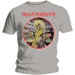 IRON MAIDEN: Killers Circle (grey) (póló)