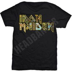 IRON MAIDEN: Logo Eddie (póló)