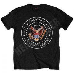 RAMONES: 40th Anniversary (póló)