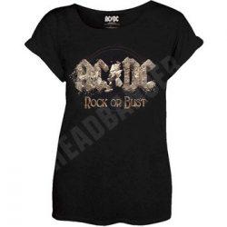 AC/DC: Rock Or Bust (női póló)