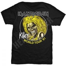 IRON MAIDEN: Killer Tour '81 (póló)