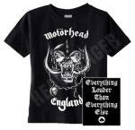 MOTORHEAD: England (póló)