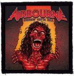 AIRBOURNE: Breakin' Outta Hell (95x95) (felvarró)