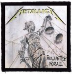 METALLICA: And Justice For All (95x95) (felvarró)