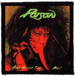 POISON: Open Up (95x95) (felvarró)