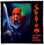 SODOM: In The Sign Of Evil (95x95) (felvarró)