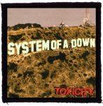 SYSTEM OF A DOWN: Toxicity (95x95) (felvarró)