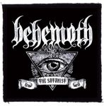 BEHEMOTH: The Satanist Eye (95x95) (felvarró)