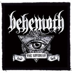 BEHEMOTH: The Satanist Eye (95x95) (felvarró)