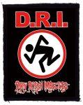 D.R.I.: Logo (75x95) (felvarró)