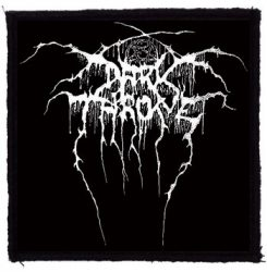 DARKTHRONE: Logo (95x95) (felvarró)