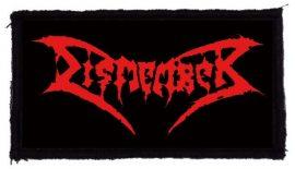 DISMEMBER: Logo (95x45) (felvarró)
