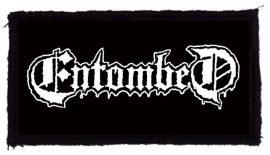 ENTOMBED: Logo (95x45) (felvarró)