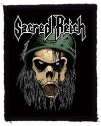 SACRED REICH: Soldier (75x95) (felvarró)