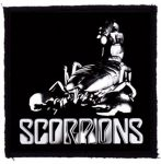 SCORPIONS: Scorpion (95x95) (felvarró)