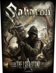 SABATON: The Last Stand (hátfelvarró / backpatch)