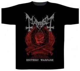 MAYHEM: Esoteric Warfare Crest (póló)