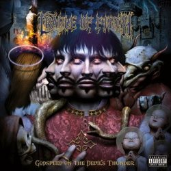 CRADLE OF FILTH: Godspeed On The Devil's Thunder (CD) (akciós!)
