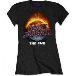 BLACK SABBATH: The End (női póló)