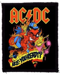 AC/DC: Are You Ready? (75x95) (felvarró)