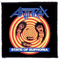 ANTHRAX: State Of Euphoria (95x95) (felvarró)