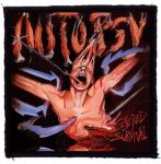 AUTOPSY: Severed Survival (95x95) (felvarró)