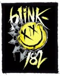 BLINK 182: Smiley Logo (75x95) (felvarró)