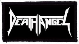 DEATH ANGEL: Logo (95x45) (felvarró)