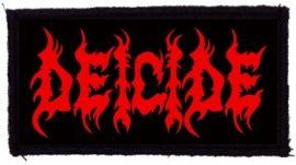 DEICIDE: Logo (95x45) (felvarró)