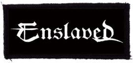 ENSLAVED: Logo (95x40) (felvarró)