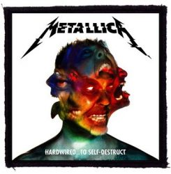 METALLICA: Hardwired (95x95) (felvarró)