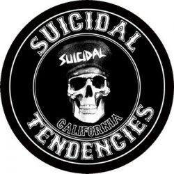SUICIDAL TENDENCIES: California (circle, 95 mm) (felvarró)