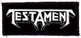 TESTAMENT: Logo (95x40) (felvarró)