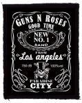 GUNS N' ROSES: Whiskey (75x95) (felvarró)