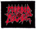 MORBID ANGEL: Logo (95x75) (felvarró)