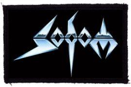 SODOM: Logo (95x60) (felvarró)