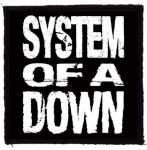 SYSTEM OF A DOWN: SOAD (name) (95x95) (felvarró)