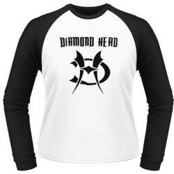 DIAMOND HEAD: Logo (hosszúujjú póló)