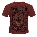 BEHEMOTH: Furor Divinus (póló, bordó)