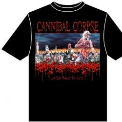 CANNIBAL CORPSE: Eaten Back To Life (póló)