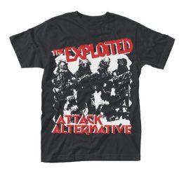 EXPLOITED: Attack (póló)
