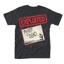 EXPLOITED: Punks Not Dead Cover (póló)