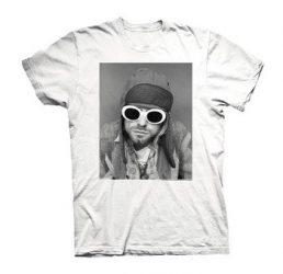 KURT COBAIN: Sunglasses Photo - XL (póló)