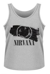 NIRVANA: Smiley (mens tank) (póló)