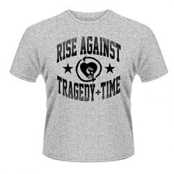 RISE AGAINST: Tragedy Time (grey) (póló)