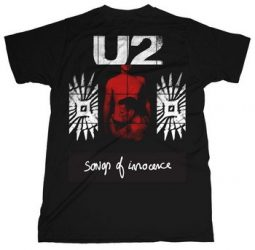 U2: Songs Of Innocence (póló)