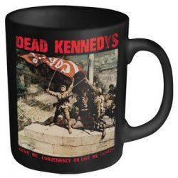 DEAD KENNEDYS: Convenience (black mug) (bögre)