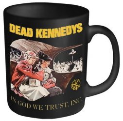 DEAD KENNEDYS: In God We Trust (black mug) (bögre)