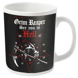 GRIM REAPER: See You In Hell (bögre)