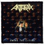 ANTHRAX: Among The Living (95x95) (felvarró)